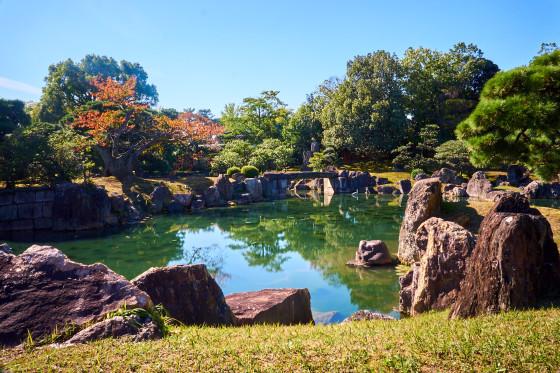 Nijo Castle Garden in Kyoto