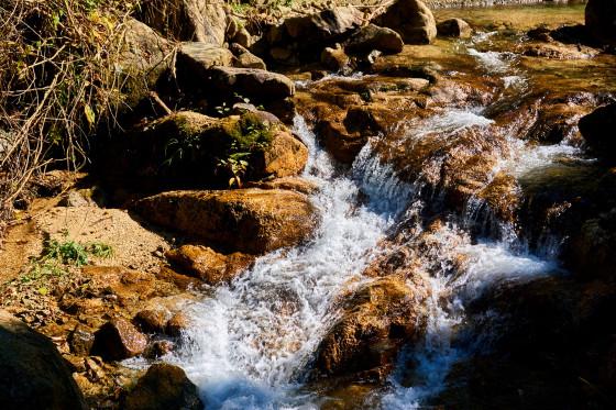 Wasserlauf zwischen Magome und Tsumago