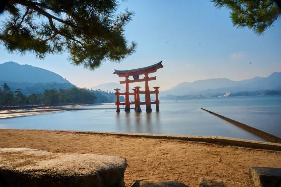 The Great Torii auf Miyajima