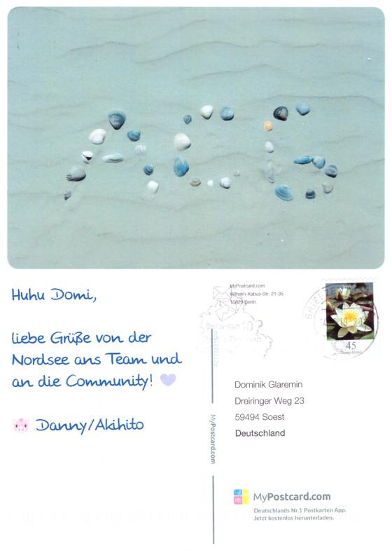 Postkarte von Akihito