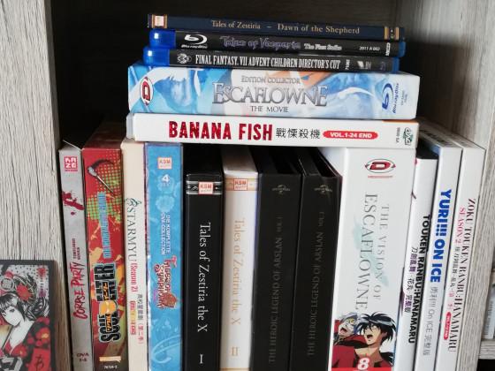 Meine Anime Sammlung^^