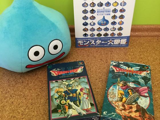 [Meine Sammlung] Dragon Quest - Games, Enzyklopädie & Slime