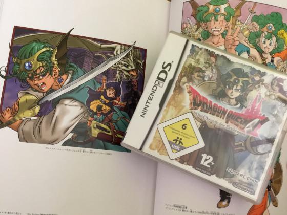 [Meine Sammlung] Dragon Quest - DQ IV & Artbook