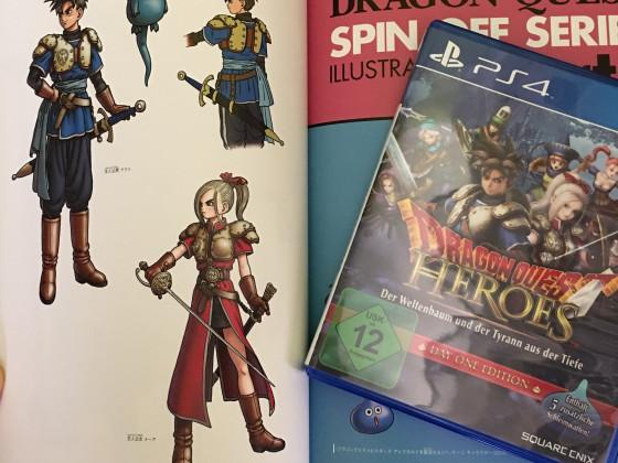 [Meine Sammlung] Dragon Quest - DQ Heroes