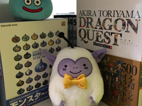 [Meine Sammlung] Dragon Quest - Enzyklopädie, Artbook & Plüschies