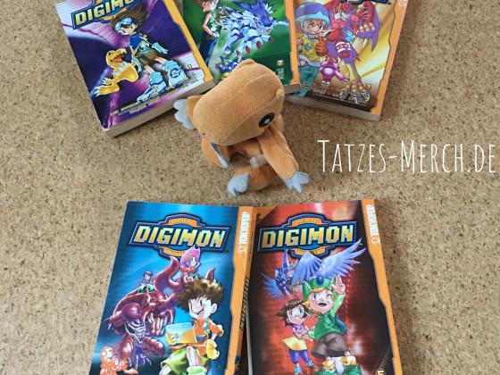[Meine Sammlung] Digimon - Digimon Adventure Manhua