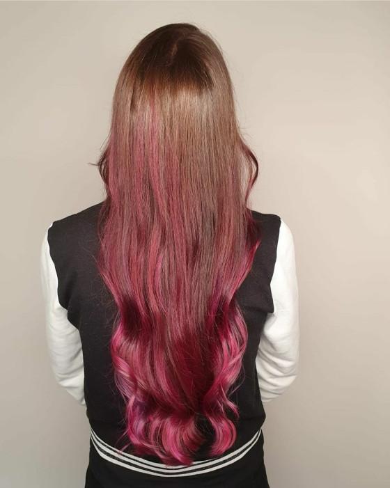 Pink und lila musste mal sein! ;)