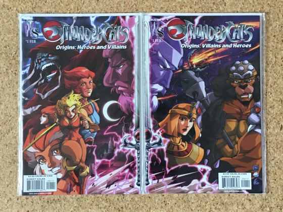 [Meine Sammlung] ThunderCats - Comics Short Stories