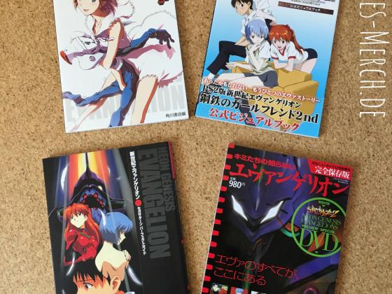 [Meine Sammlung] NGE - japanische Artbooks, etc. (3/3)