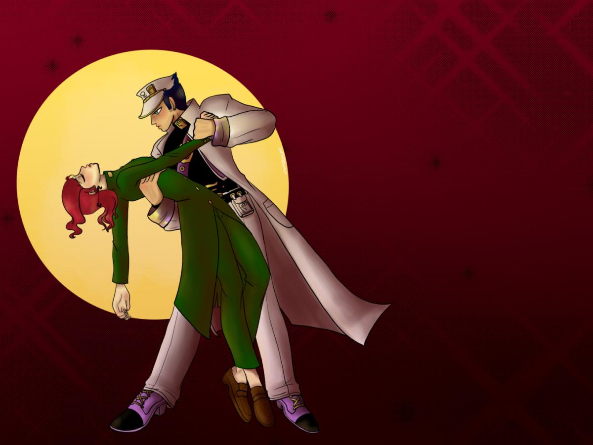 Jotaro und Kakyoin