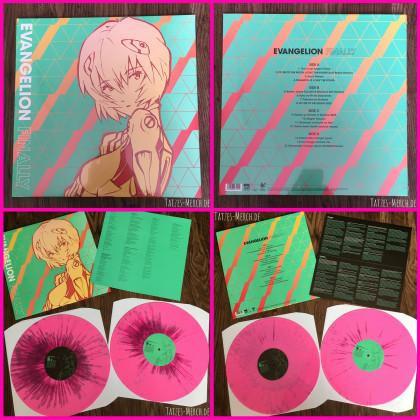 """[Meine Sammlung] """"Evangelion Finally"""" Pink Vinyl"""