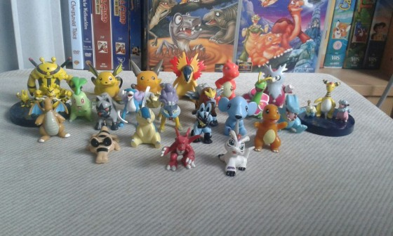 Meine Pokemon Figuren