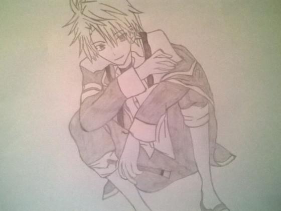 FanArt Anime Boy ( Name vergessen )