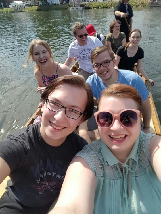 Das Donau Selfie!