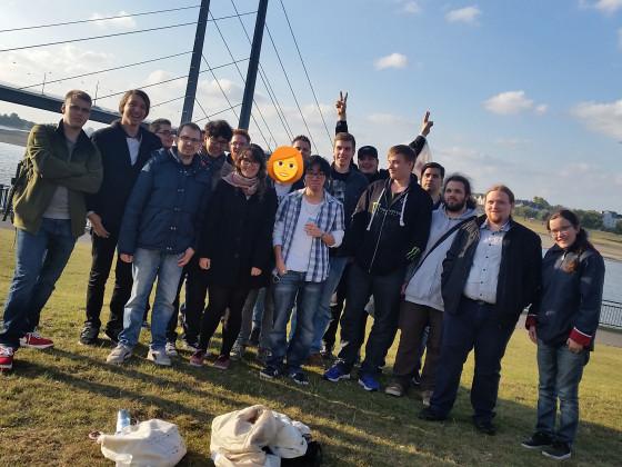 Gruppenfoto vom 5. NRW Community Treffen