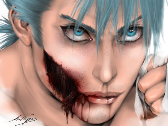 Grimmjow-Zombieversion