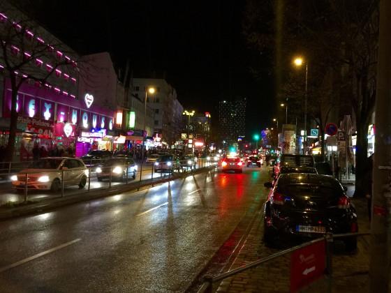 Hamburg Reeperbahn - Freitag, 11. Dezember 2015 um 2:30 Uhr