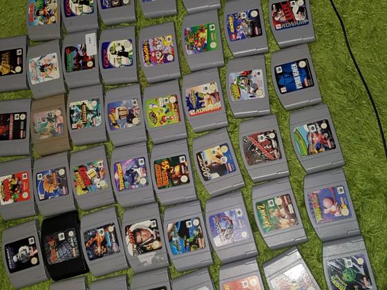 Nintendo 64 Spielesammlung