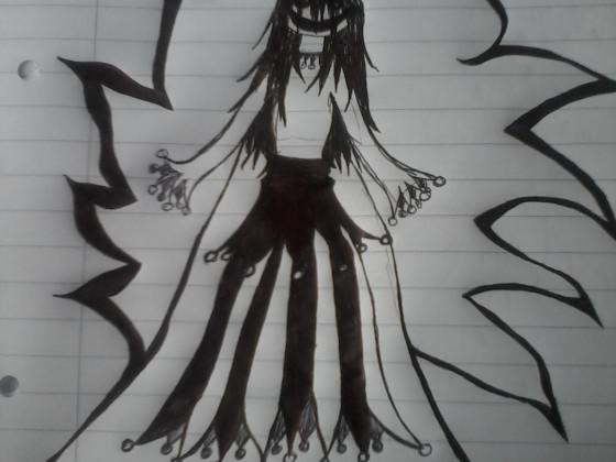 Schwarz-Weiß Lady