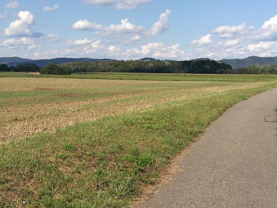 Jogging Route- Mittlere Felder