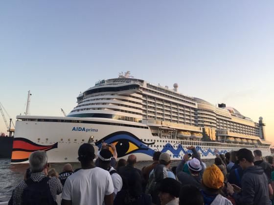 827. Hamburger Hafengeburtstag - AIDAPrima