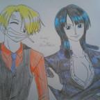 Sanji Vinsmoke x Nico Robin