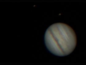 Jupiter am 30. Juni