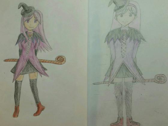 Zeichnungen Vergleich