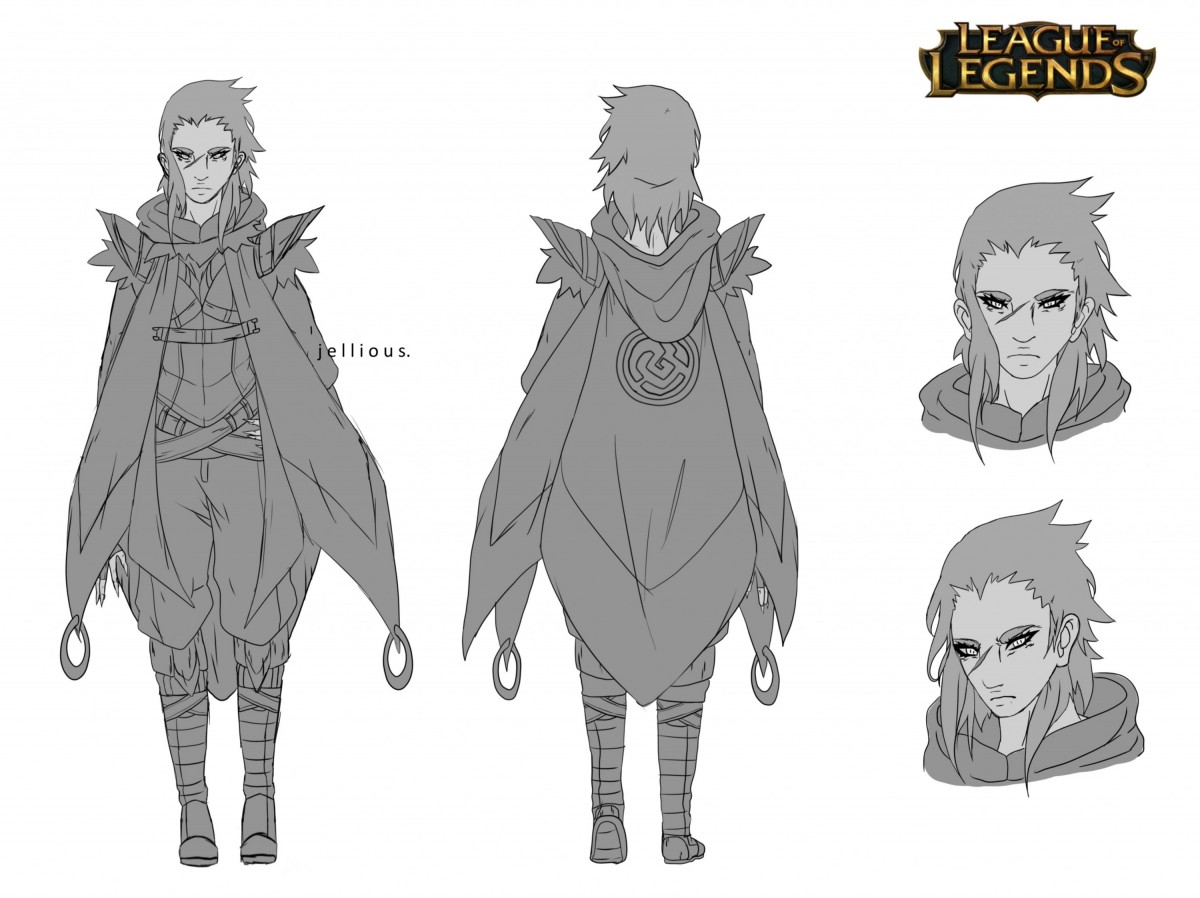 Jeen - Character Concept