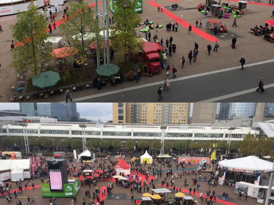 Frankfurter Buchmesse 2016 - Fachbesucherfreitag vs. Privatbesuchersamstag