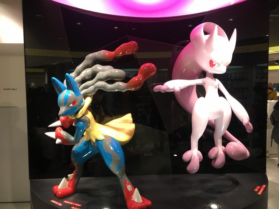 Mega Lucario vs Mega Mewtwo Y