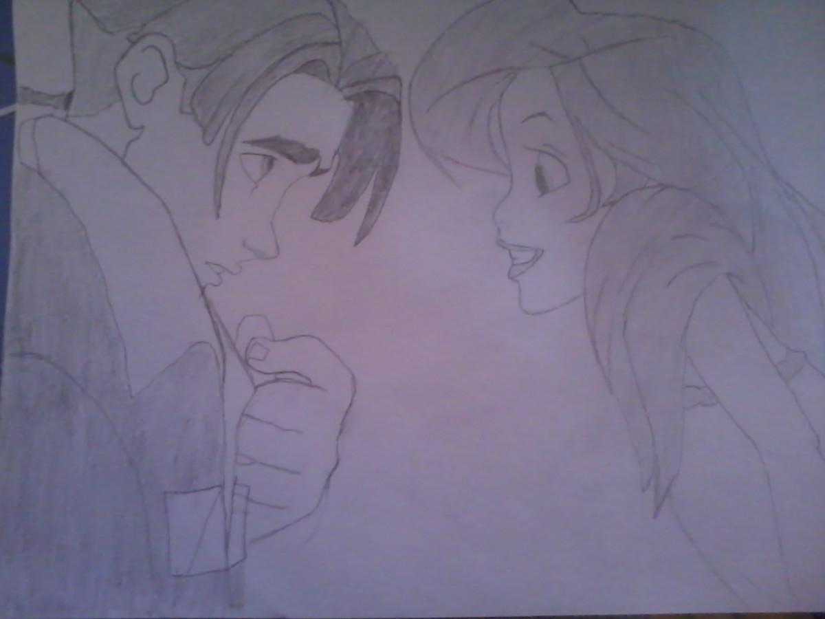Ariel und Jim Hawkins