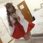 Missy-chans Cosplay: Neko-Miko 1.2