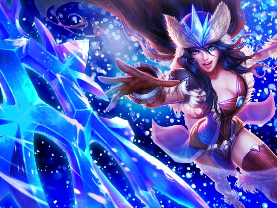 League of Legends - Sivir - Wallpaper