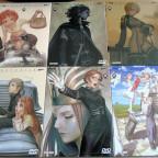 Range Murata: Last Exile, die DVDs