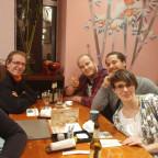 """Nettes Beisammensein im japanischen Restaurant """"Iroha"""" in Frankfurt."""