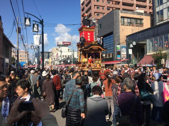 Kawagoe Festwagen von Shintomi-cho 1-chome