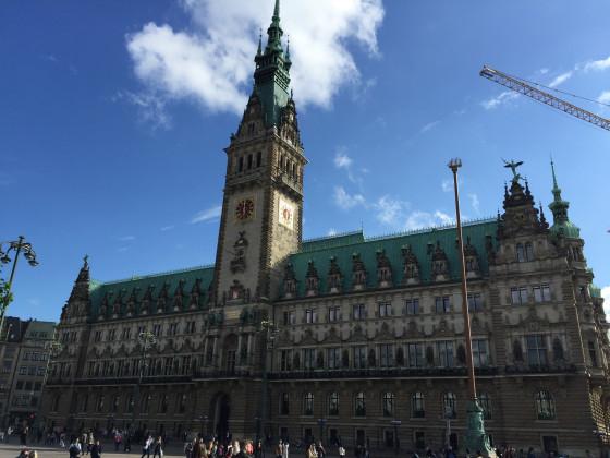 2. Juli 2016 - Hamburger Rathaus
