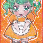 CupCake Commando Vol.II - Orange Maid Mayumi (Maid Card 6)