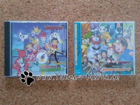 [Meine Sammlung] Digimon - Digimon Tamers CDs
