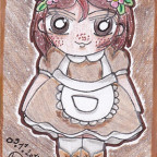 CupCake Commando Vol.II - Brown Maid Aki (Maid Card 10)