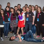 Das Community-Gruppenfoto von der DoKomi 2016