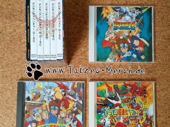 [Meine Sammlung] Digimon - Sampler (Alle Staffeln)