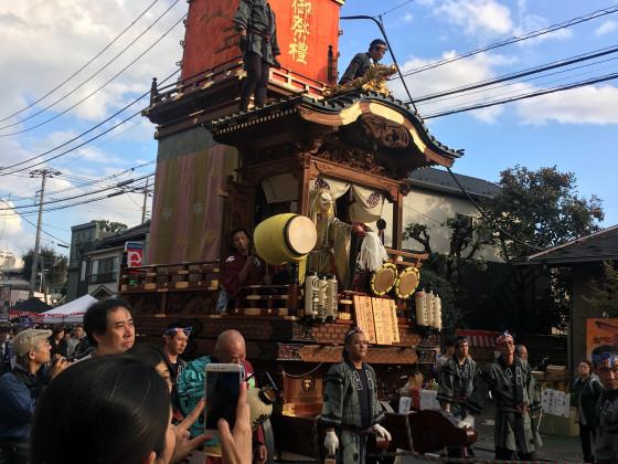 Kawagoe Festwagen von Moto-machi