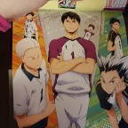 Haikyu!! Team Book Vol. 3 Fukurodani, Shiratorizawa, Dateko
