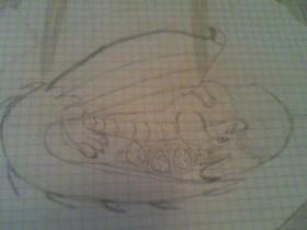 Drachenzeichnung #3