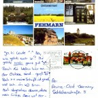 Postkarten an die Community