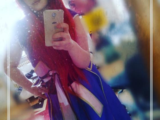 Erza Scarlet Kimono Cosplay