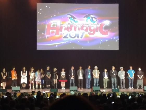Abschluss Veranstaltung (Ehrengäste aus Japan) - Animagic 2017