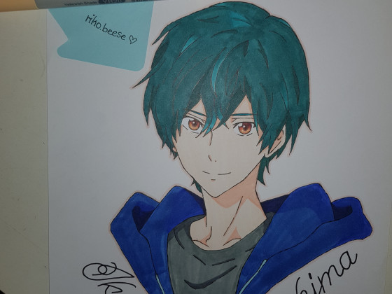 Ikuya Kirishima drawn by me :D